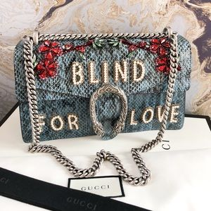Gucci Bags - $6700 Gucci Dionysus 'Blind for Love' Python Bag